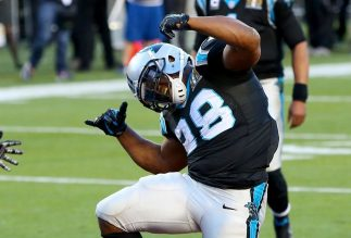 "Jonathan Stewart Dances ""David Melech"" at Super Bowl"